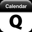 【Quick Calendar】ロック画面に最適な、スライダーシンボル&カレンダー付き壁紙を作れるアプリ。
