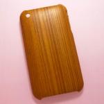 【iPhoneケース】あたたかい雰囲気になる、木目調ケース