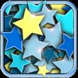 【Draw with Stars!】キラキラ可愛いお星様を画面いっぱいに描けるアプリ。画像をデコったりお子様の遊び道具にも!
