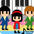 【YMCK Player(with song)】誰でも簡単にアドリブ・ソロが楽しめる!ピコピコ音が可愛い8bitミュージックプレイヤー。