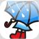 【Pluie Pluie】雨が待ち遠しくなる♪視覚的に雨の予測ができる面白いアプリ。