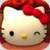 【ハローキティ パラシュートパラダイス】可愛くて面白い!キティちゃんの部屋に飾るアイテムを集めながらパラシュートゲームが楽しめるアプリ。