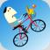 【Mr Onions】自転車で障害物を次々と越えていくゲーム。ゆるーい感じのキャラがいい味出してます!