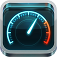 【Speedtest.net Mobile Speed Test】現在地のインターネット通信速度を計測できるアプリ。