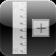 【Ruler Plus】iPhoneをシンプルな物差し代わりに。98cmまで測れます!