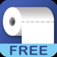 【iDragPaper FREE】ストレス発散に!トイレットペーパーを一気に全部引っ張ってしまえるゲームアプリ。