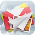 【iPostCard4U】ポストカード風の画像を手軽にメール送信できるアプリ。