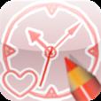 【ぼくのとけい】描いた絵がそのままアナログ時計に!斬新でユニークなアプリ。