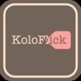 【KoloFlick】デザインが可愛い♫ かな文字専用のフリック入力練習アプリ。