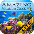【Amazing Aquarium Clock2 LITE】泳ぐ熱帯魚を眺めながらリラックス★置き時計のアプリ。無料版。