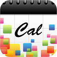 【きせかえカレンダー】置き時計としてもオススメ♫ 好きなデザインに着せ替えできるカレンダーのアプリ。