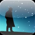 【星めぐりの夜】夜空に光る星達に囲まれながら、宮沢賢治の世界観を堪能しよう♪ 美しいスノードーム風アプリ。