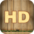 【iCon Skins HD】種類豊富な壁紙集アプリ。壁紙設定した画面イメージをプレビューできるのが便利。