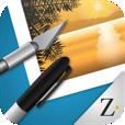【PhotoPad by ZAGG】使い易い画像編集アプリ。これひとつで色々できちゃいます!