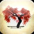 【iBonsai】「和」の雰囲気を堪能しよう♫ ランダムに描かれる盆栽を様々な角度から楽しめるアプリ。