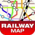 【まるごと路線図】首都圏の路線図をオフラインで見れるアプリ。現在地情報を取得して周囲の路線を調べられます。