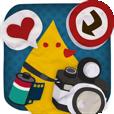 【DecoSama】可愛いイラストステッカーが満載! 楽しく写真をデコれるアプリ。