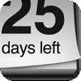 【Countdown Calendar】「あれから何日経った?」「あの予定まであと何日?」その両方をカウントできる便利アプリ。通知機能も!
