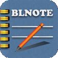 【BLNOTE】標準メモアプリでは物足りない方に!背景テーマやフォントが選べるシンプルなメモ帳アプリ。