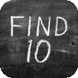 【FIND 10】足して10にするシンプルなゲーム。黒板風なデザインが良いです。