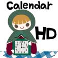 【雑貨コラージュ時計 HD】眺めて楽しむ、デザインアプリ。可愛い雑貨屋さんのような雰囲気に癒されます♪