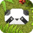 【動物折り紙】子供から大人まで楽しめる!可愛い動物の顔の折り方が紹介されているアプリ。