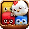 【Birzzle(バ-ズル)】ドラッグ&ドロップで鳥たちを消していく新感覚パズルゲーム!誰でも気軽に楽しめます♪