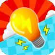 【Light It!】隠れた絵を探し出そう!電線をつなぐパズルゲームアプリ。