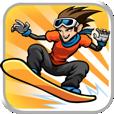【iStunt 2 – Insane Hills】普通のスノーボードゲームとは一味違う、エキサイティングな物理アクションゲーム。