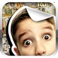 【Cutout Creator】お気に入り写真からオリジナルステッカーを作ろう!雑誌の切り抜きを貼り合わせたような画像が作成できるアプリ。