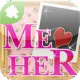 【ME♥HER】ミーハー女子はダウンロード必須☆女性芸能人の最新ファッション・メイク・ネイルなどをチェックできるアプリ。