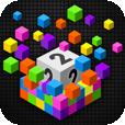 【Flood-It!2】色や音が綺麗でお洒落!カラーを合わせて陣地を広げるパズルゲームアプリ。