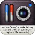 【Notica】ノートカードを保存していけるお洒落なアプリ。Facebook、Twitter、Tumblrでの共有も♪