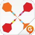 【ダーツ by Hangame】最大4人で対戦可能!端末を振って遊べる本格ダーツゲームアプリ。