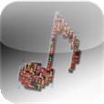 【Music top 100's hits】音楽好き必見!各国のiTunesシングルTop100が一覧で見れるアプリ。