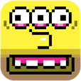 【eBoy FixPix】ピタッとハマる感覚が癖になる。iPhoneを傾けてアートを完成させるパズルゲーム。