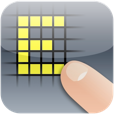 【EDGE touch(エッジタッチ)】手軽にドット絵が描けるアプリ。オリジナルの動く絵文字作成にも♪