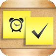 【iMemoBoard】手書きやアラート設定も可能な付箋メモアプリ。ホーム画面のようなデザインがGood!