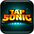【TAP SONIC – リズム・アクション】音ゲーに新たな風!iPhoneのフリック操作を活かしたリズムゲーム。