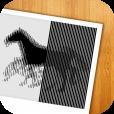 【Motion Trick Camera – animated optical illusion making】写真が動いているように見える、面白いトリック画像を作成できるアプリ。
