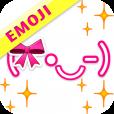 【Girl's絵文字顔文字】カラフル可愛い!顔文字に絵文字を加えた新しい顔文字集アプリ。