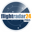 【FlightRadar24 Pro】世界中の今飛んでいる飛行機が見れるアプリ。このワクワク感は凄い!