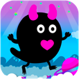 【ZOMBIE CANDY】ポップでキュート!タッチ操作だけで遊べるジャンプアクションゲーム。