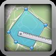 【Geo Measures】点と点を結んで地図上の距離・面積が測れる便利アプリ。
