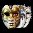【Party Cam】iOS5の新機能を使用した面白カメラアプリ。リアルタイムで顔に色んなマスクを重ねよう!