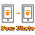 【PeerPhoto】待ち時間無しでさくっと使える!Bluetoothで簡単に写真交換ができるアプリ。