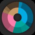 【Fathm】シンプル&スタイリッシュな時間管理アプリ。グラフの種類が豊富です!