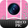 【プリ系写真デコ DECOPIC】無料で使えるスタンプ&フレームが300種類以上♪ 写真を可愛くデコれるアプリ。