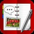 【i手帳】手帳派のアナタに!アナログ感覚で様々な用途に使える手帳アプリ。