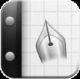 【Inkiness】質感がリアル!ペン先の位置を自在に調節できる手書きメモアプリ。